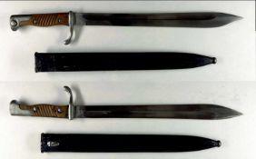 """Blankwaffen Deutschland Preußen, Seitengewehr 98/05 n.A., Kammerstück, Klinge mit Hersteller """""""
