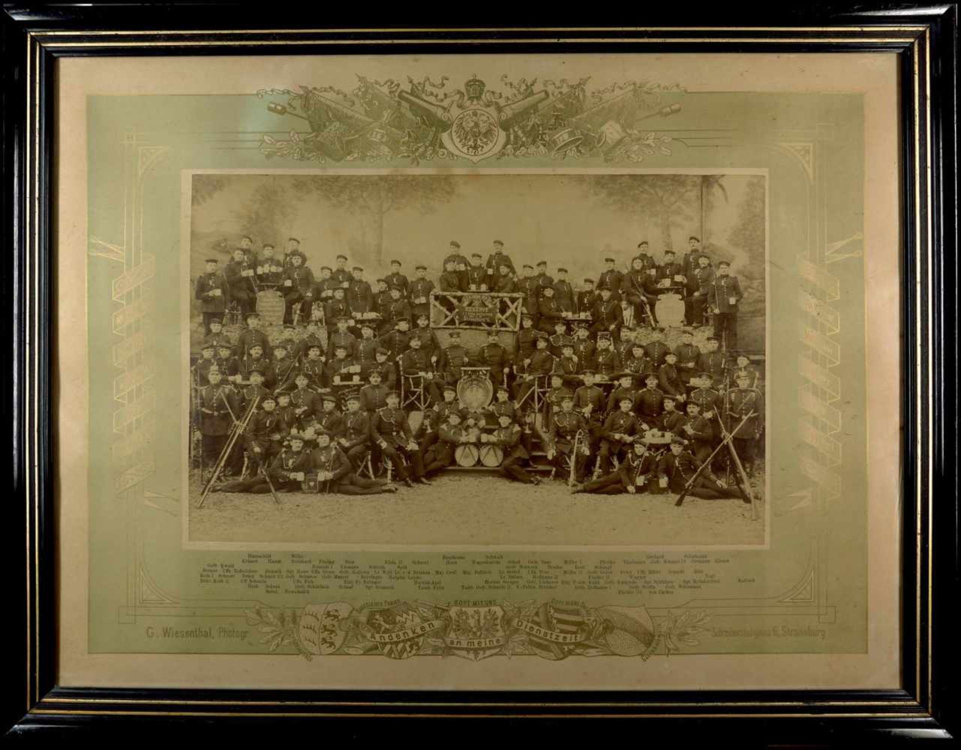 Fotoalben, militärische Einzelfotos, Postkarten 1895-1897, Bild, Andenken an meine Dienstzeit,