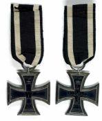 Auszeichnungen Deutscher Staaten bis 1933 Preussen, Eisernes Kreuz 1914, 2. Klasse, am Band, Zustand