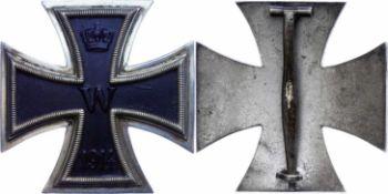 Auszeichnungen Deutscher Staaten bis 1933 Preussen, Eisernes Kreuz 1914, 1. Klasse, gewölbte Form,