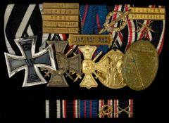 Deutsche Ordenspangen bis 1933 Ordensspange mit Preussen Eisernes Kreuz 1914 2. Klasse,