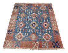 A Kilim rug or throw