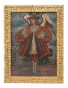 Cuzco School (late 18th/early 19th century) Musical angel