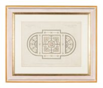 Architecture. Adam (Robert & James, after), a group of four bookplate engravings of ceiling designs,