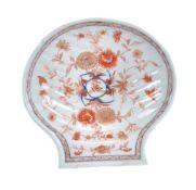 A Chinese shell-shaped dish