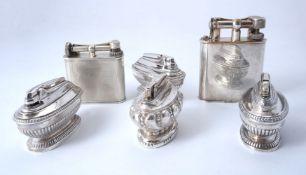 An Austrian silver table lighter