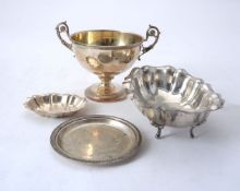 Four items of Italian silver