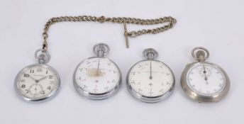 Four military watches