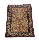 A small Isfahan carpet