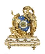 A French mantel clock