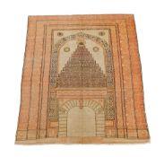 An Anatolian carpet