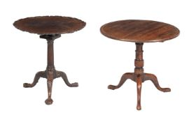 A George III mahogany occasional table