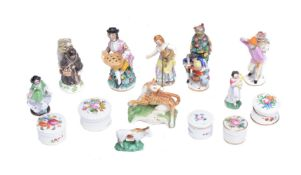 Various assorted items of small porcelain