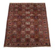 A Bakhtiar carpet