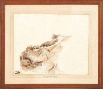 William Daniell R.A. (1796-1837) and Thomas Daniell R.A. (1749-1840) Mysore - a sketch