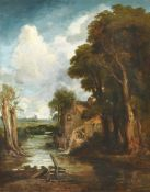 Circle of Frederick Waters Watts (British 1880-1862) The Watermill