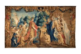 An Antwerp Historical Tapestry from The Story of Emperor Octavian Augustus, circa 1660-1690