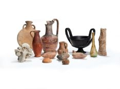 A miscellaneous group of antiquities and later items
