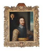 Circle of Cornelis Jonson Van Ceulen Portrait of Sir Edward Dering (1598-1644)