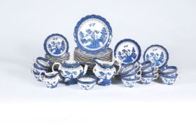 A Booth's pottery 'Real Old Willow' pattern part breakfast service