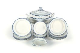 A selection of Wedgwood pearlware