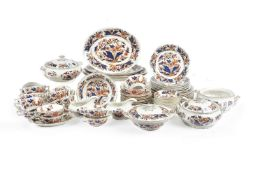 A Booth's pottery 'Dovedale' pattern part dinner service