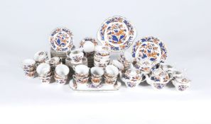 A Booth's pottery 'Dovedale' part tea service