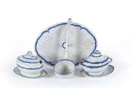 Four items of Staffordshire pearlware