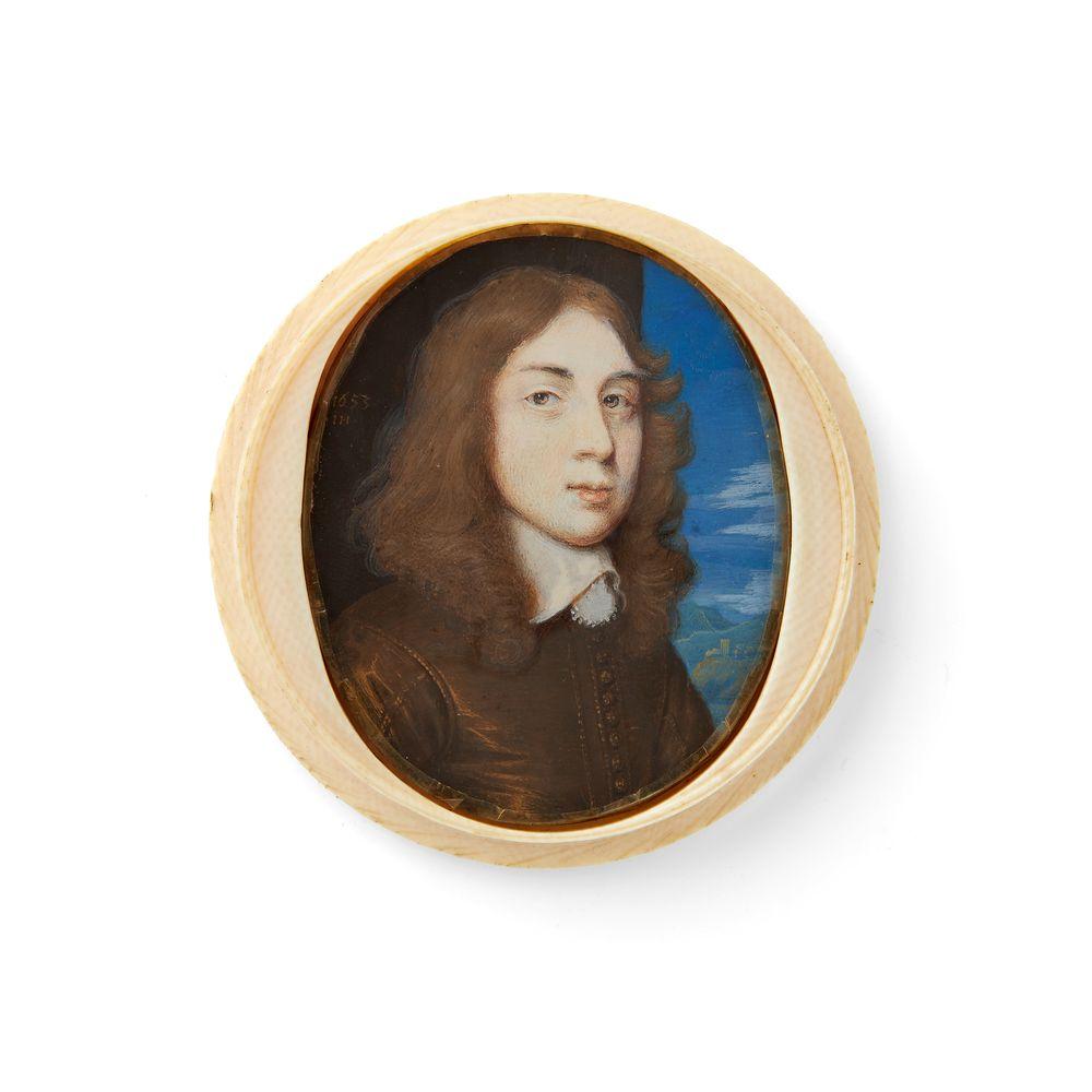 ϒ John Hoskins (1590-1664) Portrait of Henry Percy