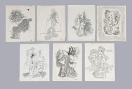 Mayo (Antoine Malliarakis) (Greek 1905-1990), Surrealist studies