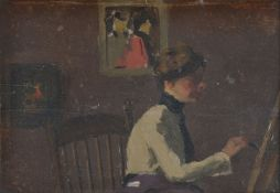 Camden School (c. 1910), Portrait of artist, possibly Sylvia Gosse