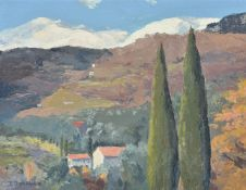 Phoebe Dovan (Irish 1902-1998), Provencal view