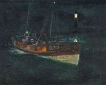 Richard Eurich (British 1903-1992), Night Episode