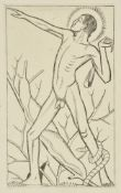 Eric Gill (British 1882-1940), A group of eighteen wood engravings of religious subjects
