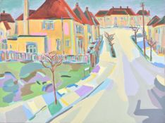 Harry Weinberger (German 1924–2009), London Suburb