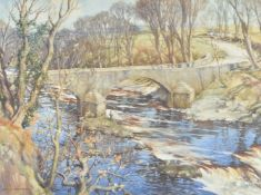 Charles Oppenheimer (British 1875-1961), Old Bridge of Tongland, Galloway, Ireland