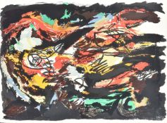 Karel Appel (Dutch 1921-2006), Paysage volant