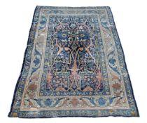 † A Bidjar carpet, of Garrus design