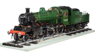 A fine exhibition quality 7 ¼ inch gauge model of a 2-6-0 (Mogul) British Railways Standard Class 2