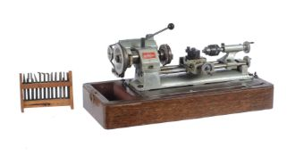 An Emco-Unimat watchmakers/model makers lathe
