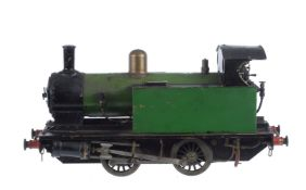 A well engineered 3 1/2 inch gauge model of a 0-4-0 side tank locomotive 'Juliet'
