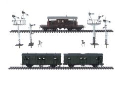 Four 10mm scale gauge 1 Southern Railway pieces of rolling stock