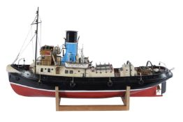 An exhibition standard model of the steam tug boat 'Imara'