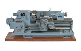 A very fine 1/5th scale exhibition model of a Dean Smith & Grace Heavy Duty Lathe