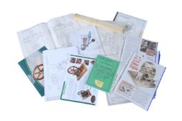 A collection of Historic Engines South West drawings by Anthony Mount