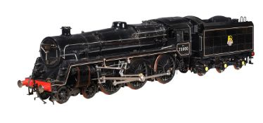 A fine exhibition standard model of a 7 1/4 inch gauge British Railways Class 5 4-6-0 tender locomo