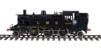 A well engineered 5 inch gauge model of a British Railways Class 2 side tank locomotive No 1200
