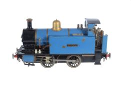 A well engineered 3 1/2 inch gauge model of a 0-4-0 'Juliet' side tank locomotive No 16 'Deborah'