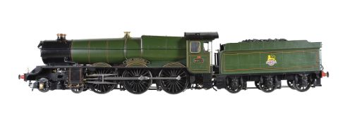 An award winning 5 inch gauge model of Great Western Railway King Class 4-6-0 tender locomotive King