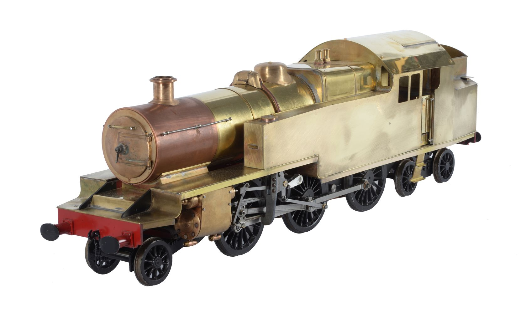 Lot 49 - A well engineered 5 inch gauge model of a 2-6-4 side tank locomotive